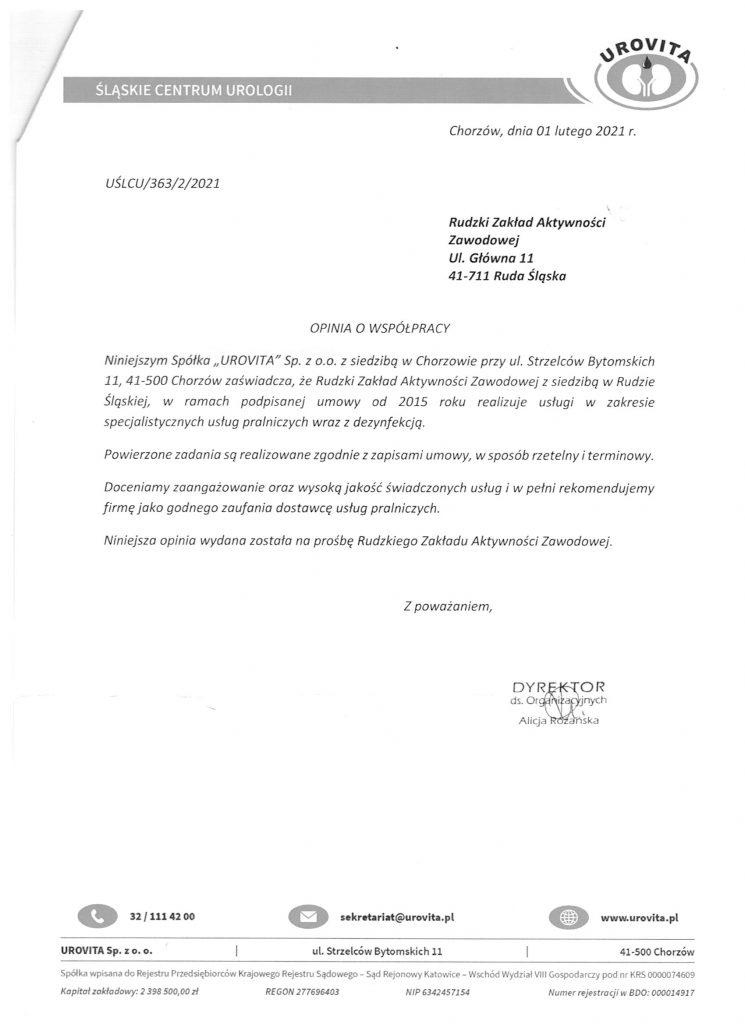 referencje Śląskie Centrum Onkologii